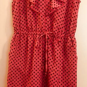 b9684d6739d depop Dresses - DePop summer dress red orange and polkadots